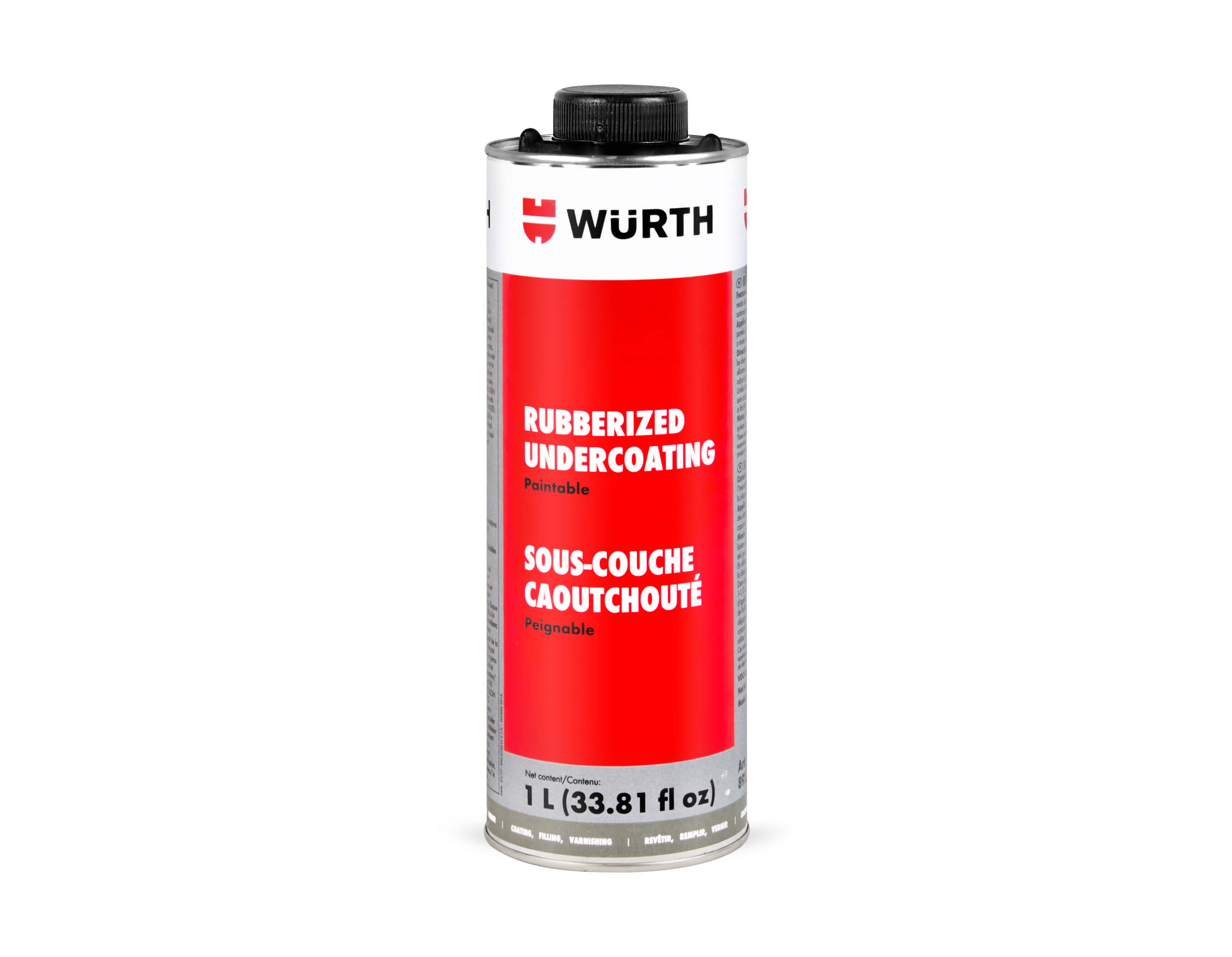 RUBBERIZED UNDERCOATING PAINTABLE 1L