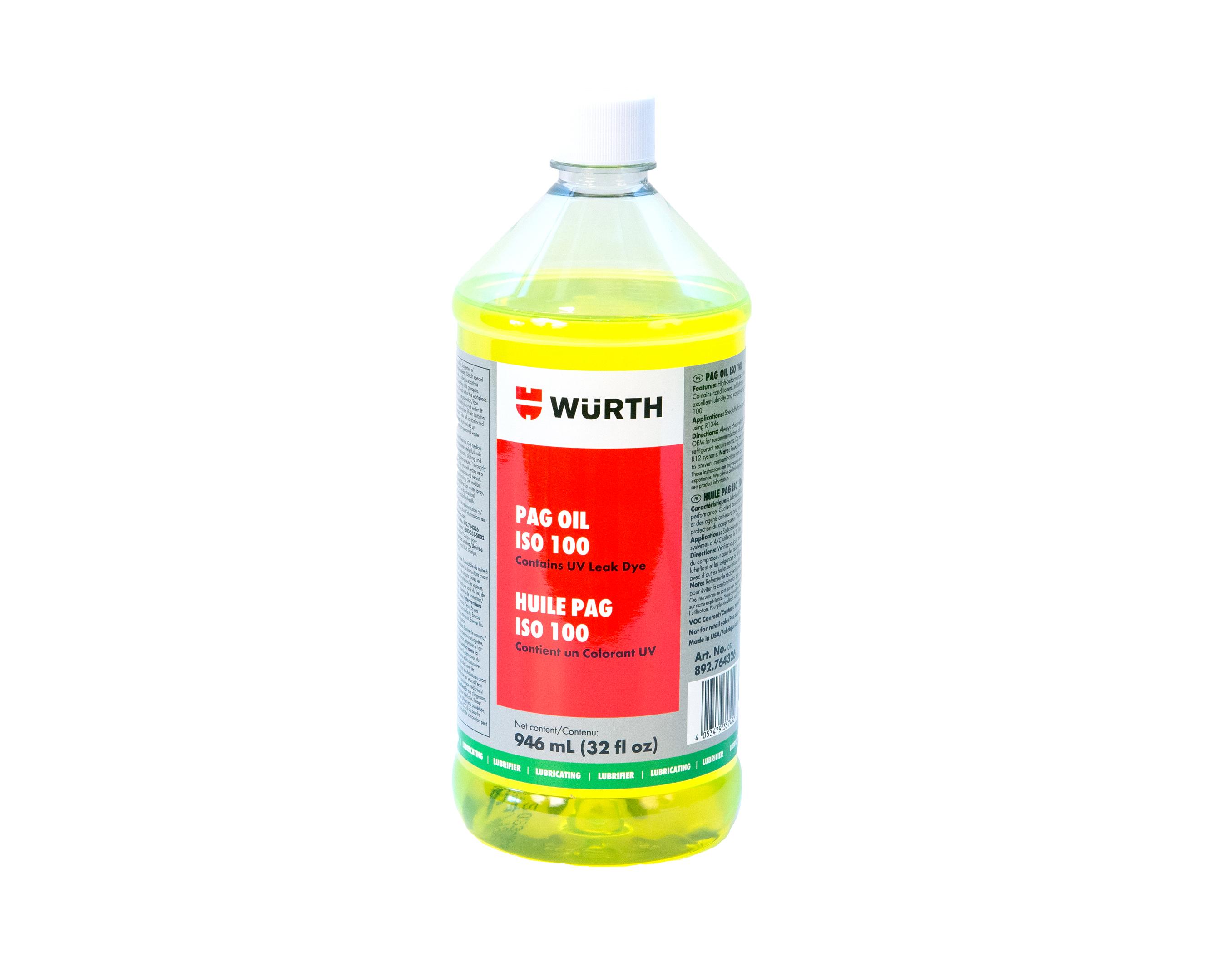 PAG OIL 100 VISC 946 ML (32OZ)