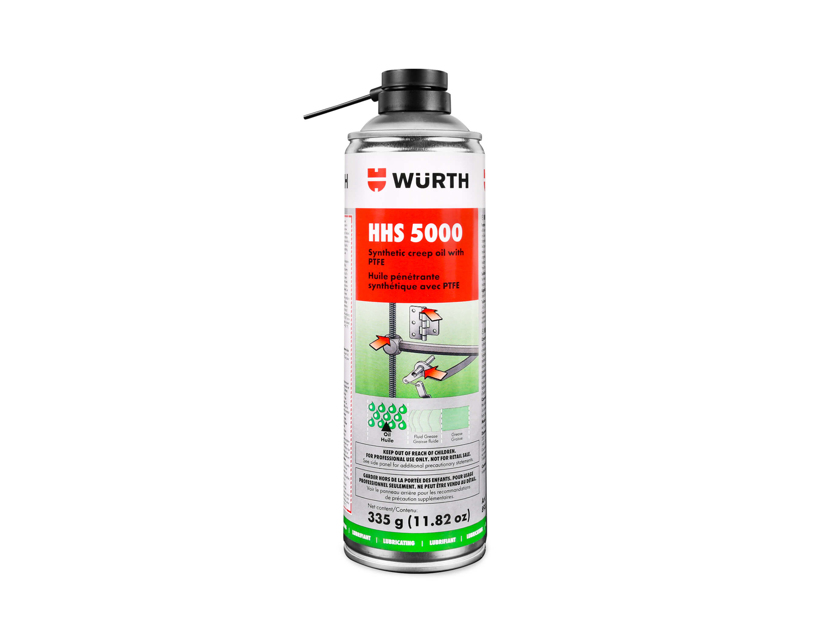 hhs 5000 lubricants synthetic lubricant wurth canada. Black Bedroom Furniture Sets. Home Design Ideas